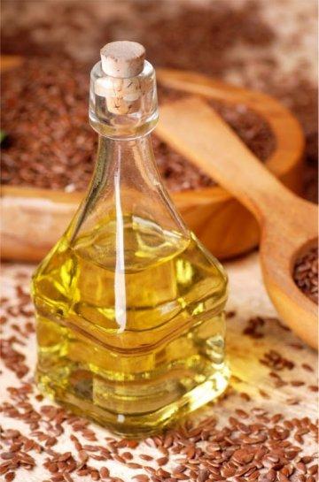 Льняное рафинированное масло